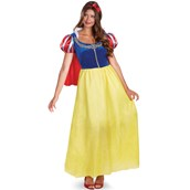 Disney Princess Womens Snow White Deluxe Costume