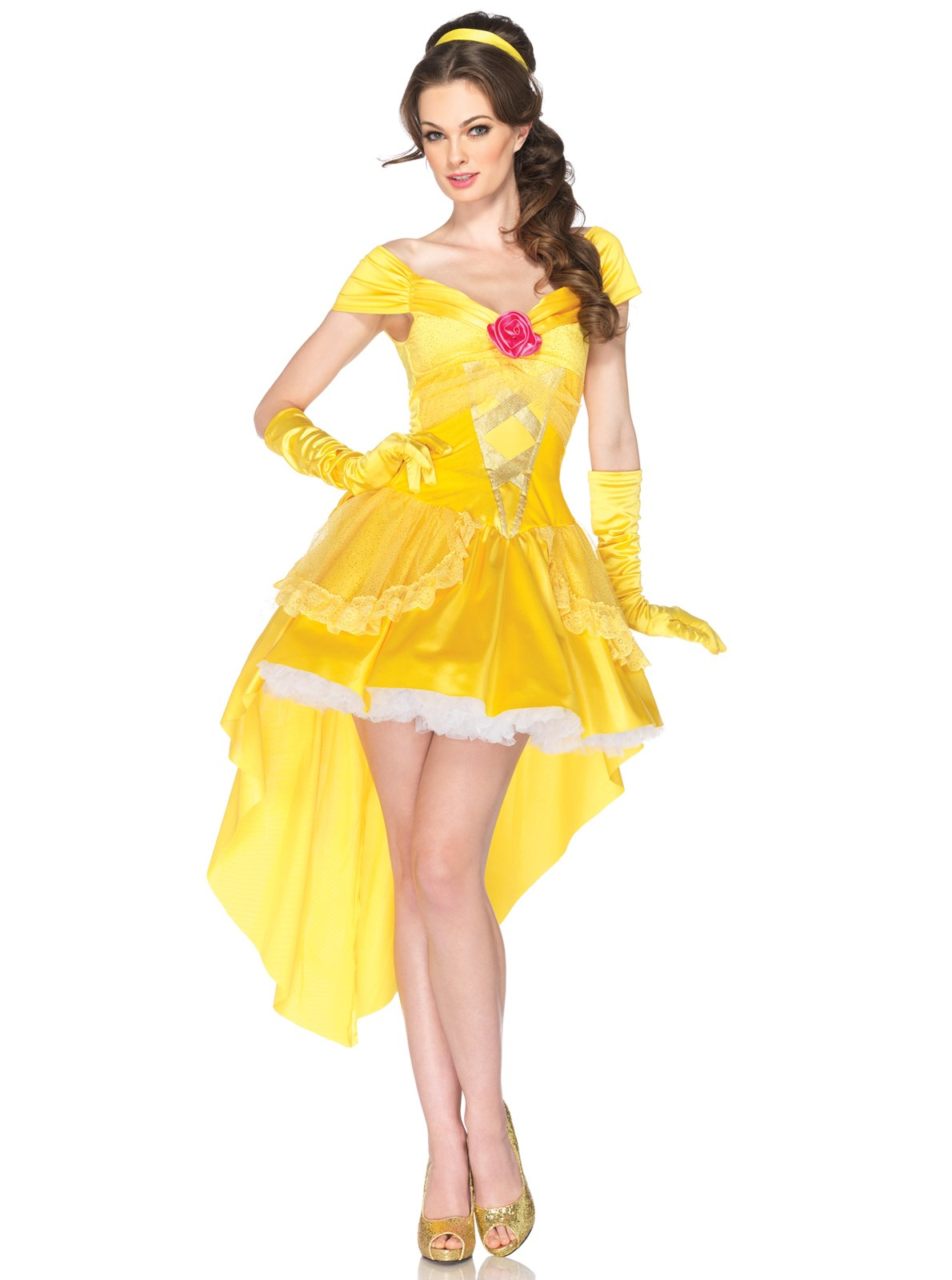 Disney Princesses Enchanting Belle Adult Costume | BuyCostumes.com