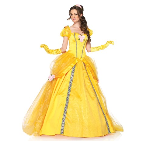 Disney Princesses Enchanting Belle Deluxe Adult Costume
