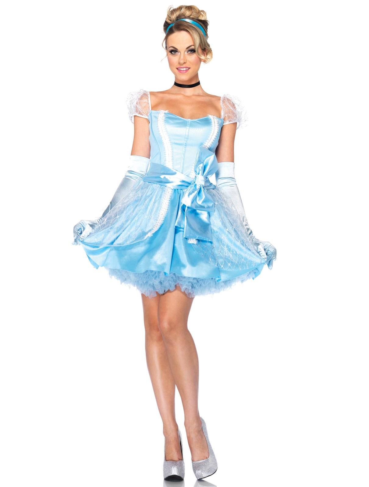 Disney princess gowns for adults - Disney Princesses Glass Slipper Cinderella Adult Costume