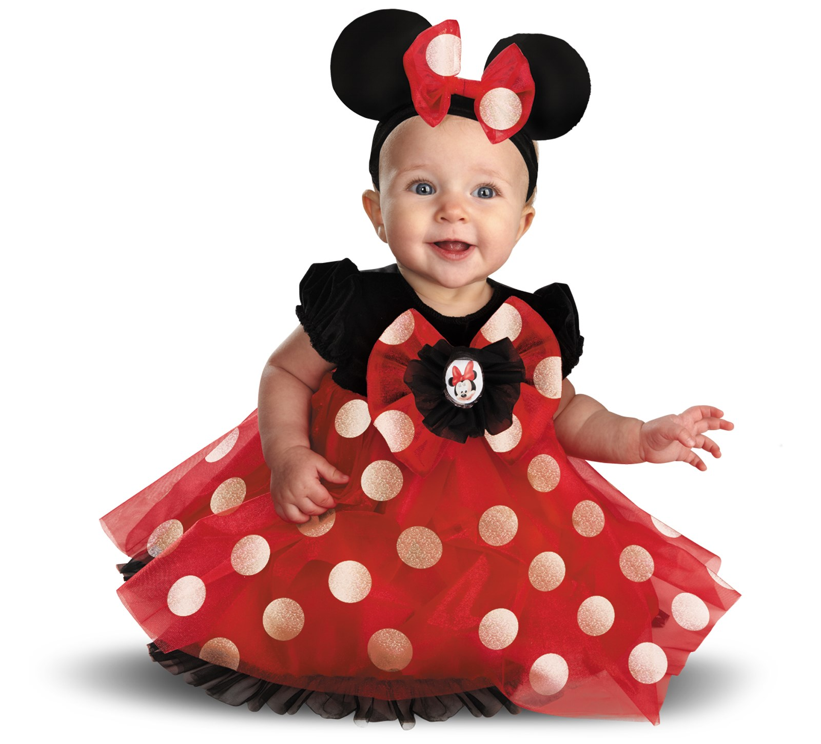Disney Red Minnie Mouse Infant Costume | BuyCostumes.com