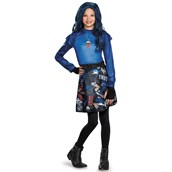 Disney's The Descendants: Evie Isle of the Lost Classic Costume For Girls