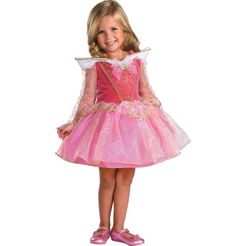 Disney Sleeping Beauty Aurora Ballerina Toddler / Child Costume