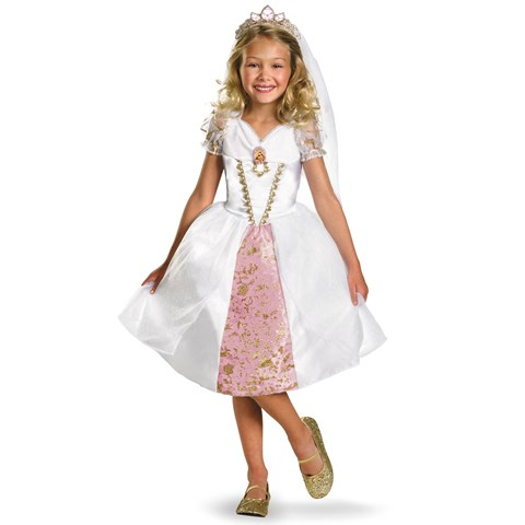 Disney Tangled Rapunzel Wedding Gown Child Costume