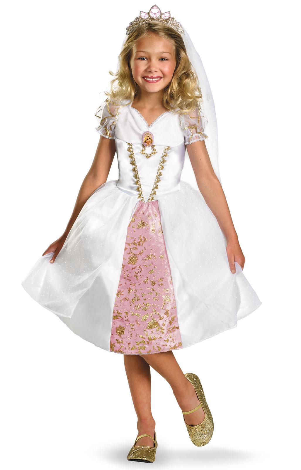disney tangled rapunzel wedding gown toddler costume | buycostumes