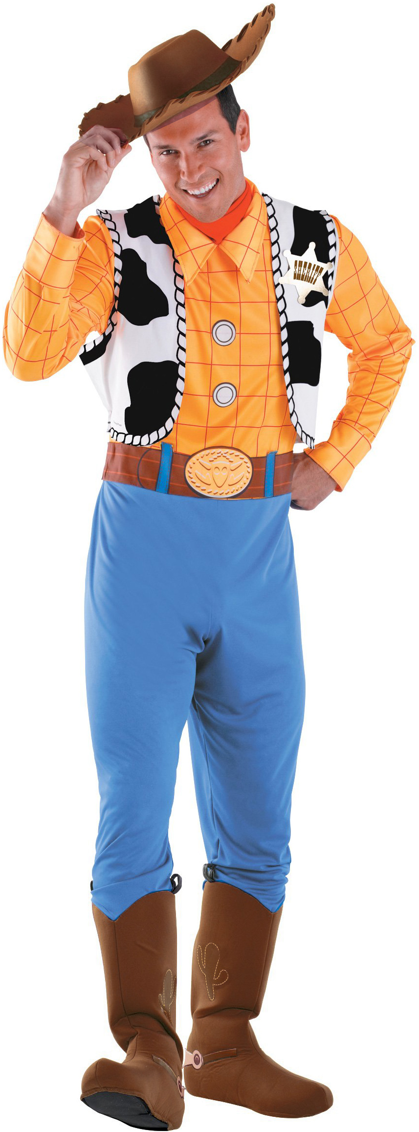 Disney Toy Story , Woody Deluxe Adult Costume