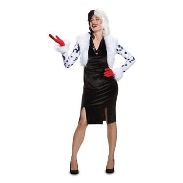 Disney Villains Cruella De Vil Deluxe Adult Costume