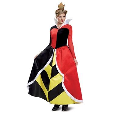 Disney Villains Queen Of Hearts Deluxe Adult Costume