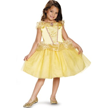 Disney's Beauty And The Beast Belle Girls Classic Costume