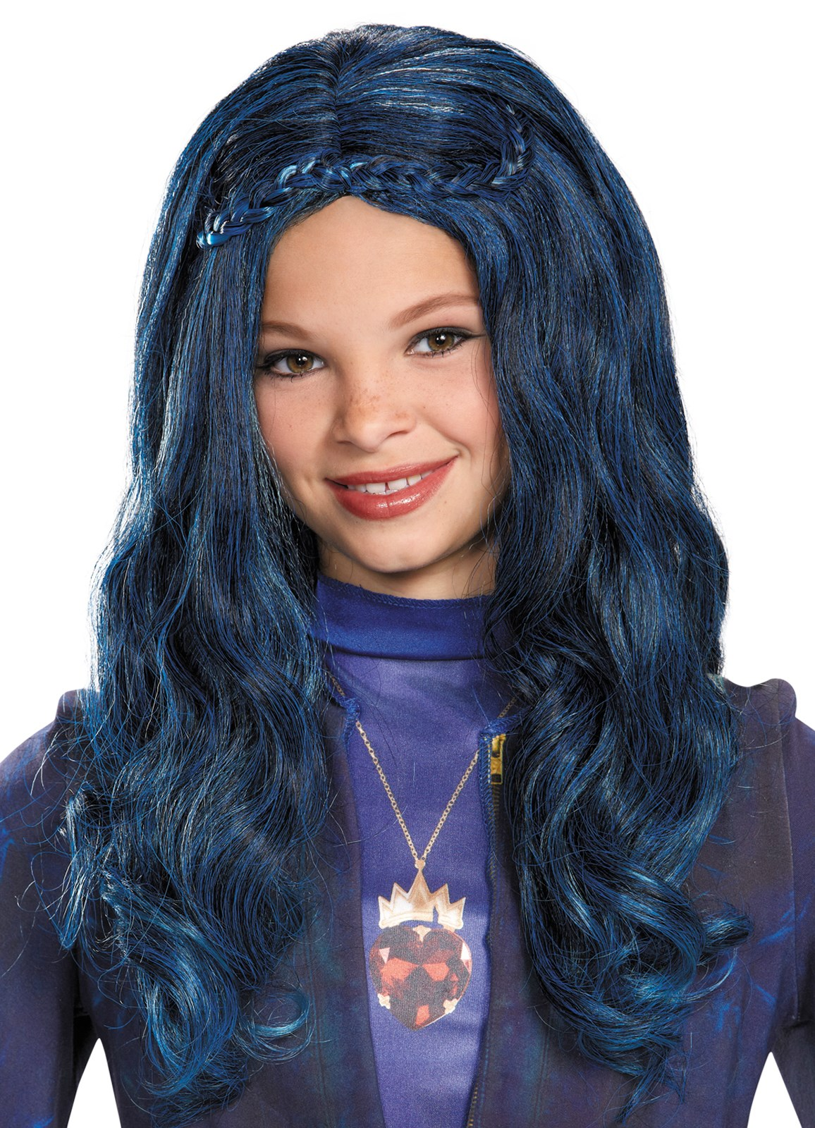 Disneys Descendants: Evie Wig For Girls