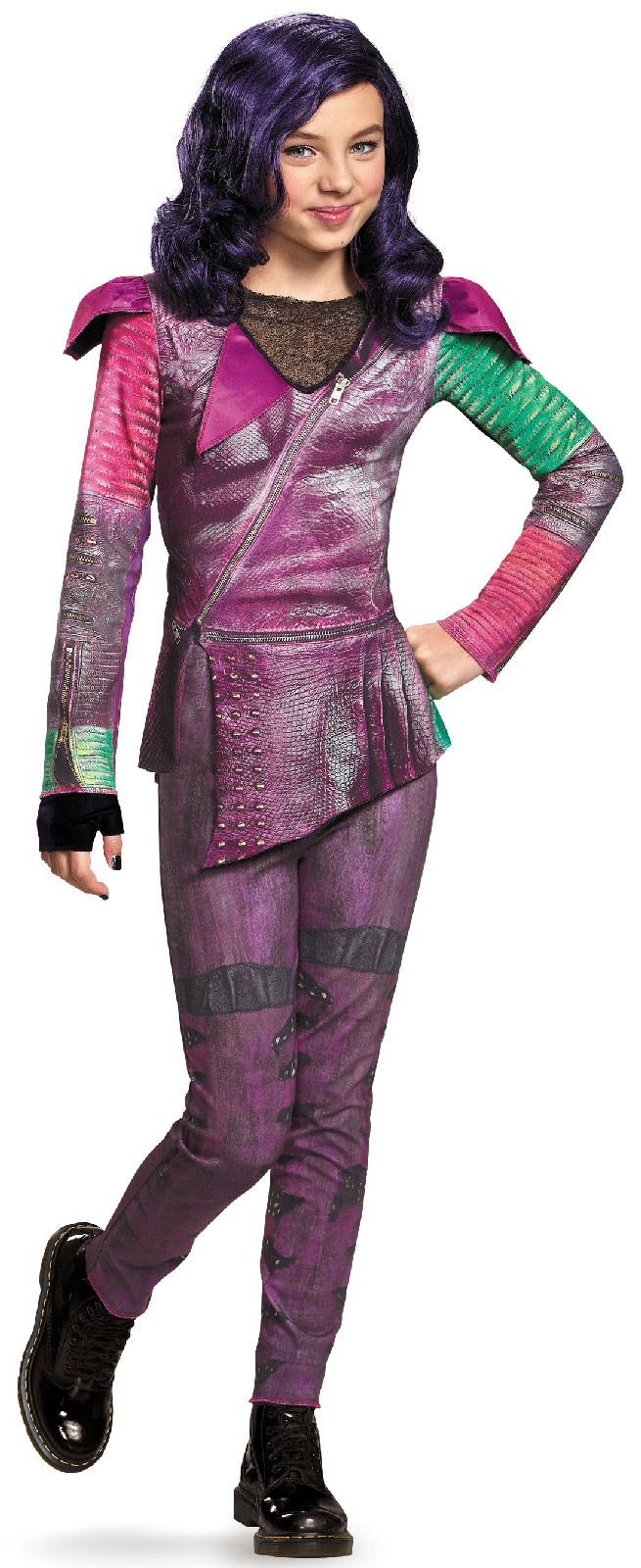 Disneys Descendants: Mal Isle of the Lost Classic Costume For Kids