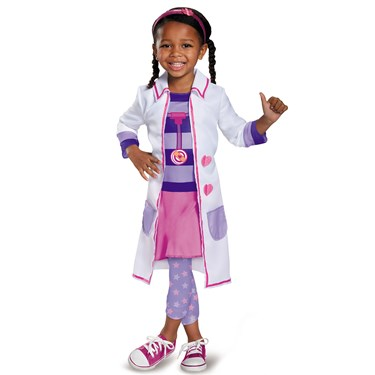 Doc Mcstuffins Girls Toy Hospital Classic Toddler Costume