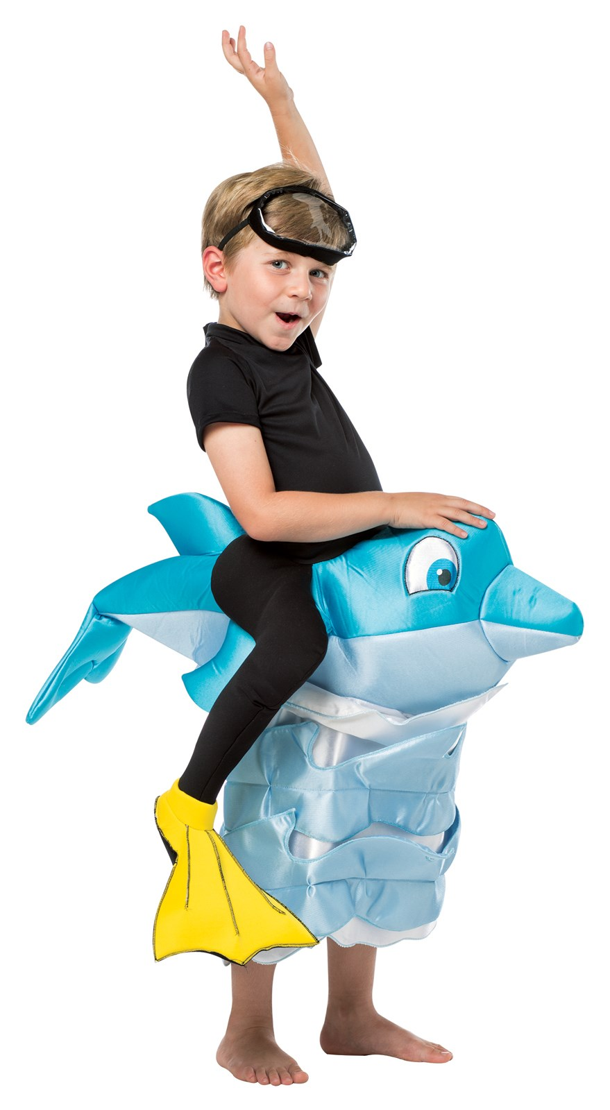 Dolphin Rider Costume For Kids