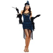 Downton Doll Flapper Adult Costume