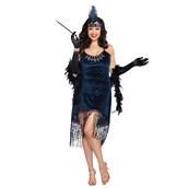 Downton Doll Flapper Adult Plus Costume