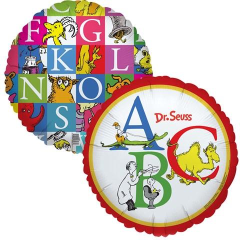 Dr. Seuss ABC - Foil Balloon