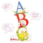 Dr. Seuss ABC - Standup - 6' Tall