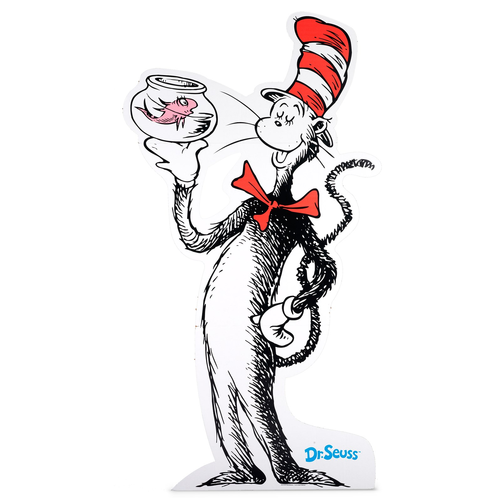 how to draw cat in the hat full body