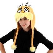 Dr. Seuss Lorax Hoodie Hat (Adult)