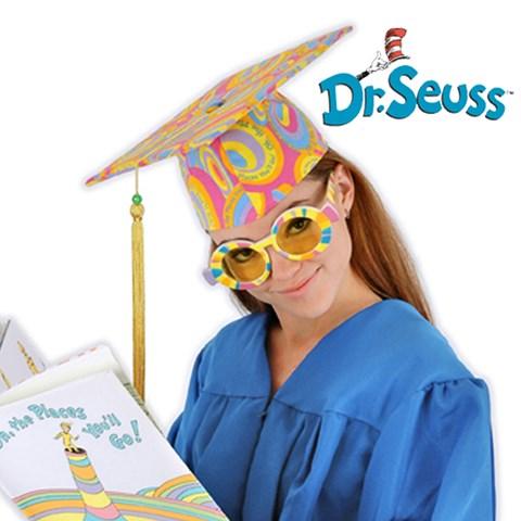 Dr. Seuss Oh, the Places You'll Go! - Graduation Cap