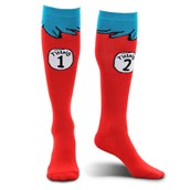 Dr. Seuss Thing 1 and 2 Kids Socks