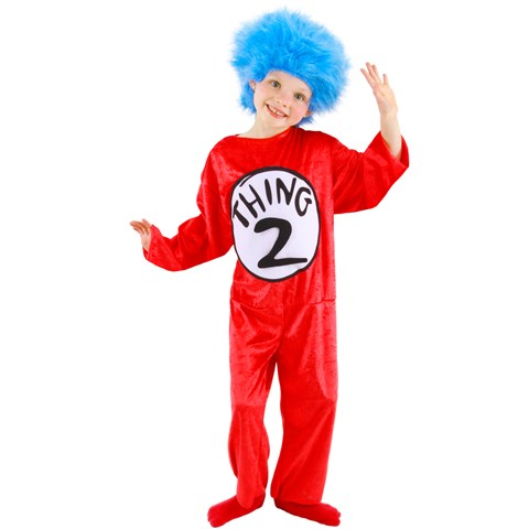 Dr. Seuss - Thing 1 or 2 Child Costume