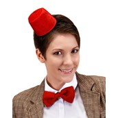 Dr. Who Mini Fez & Bow Tie Kit For Adults