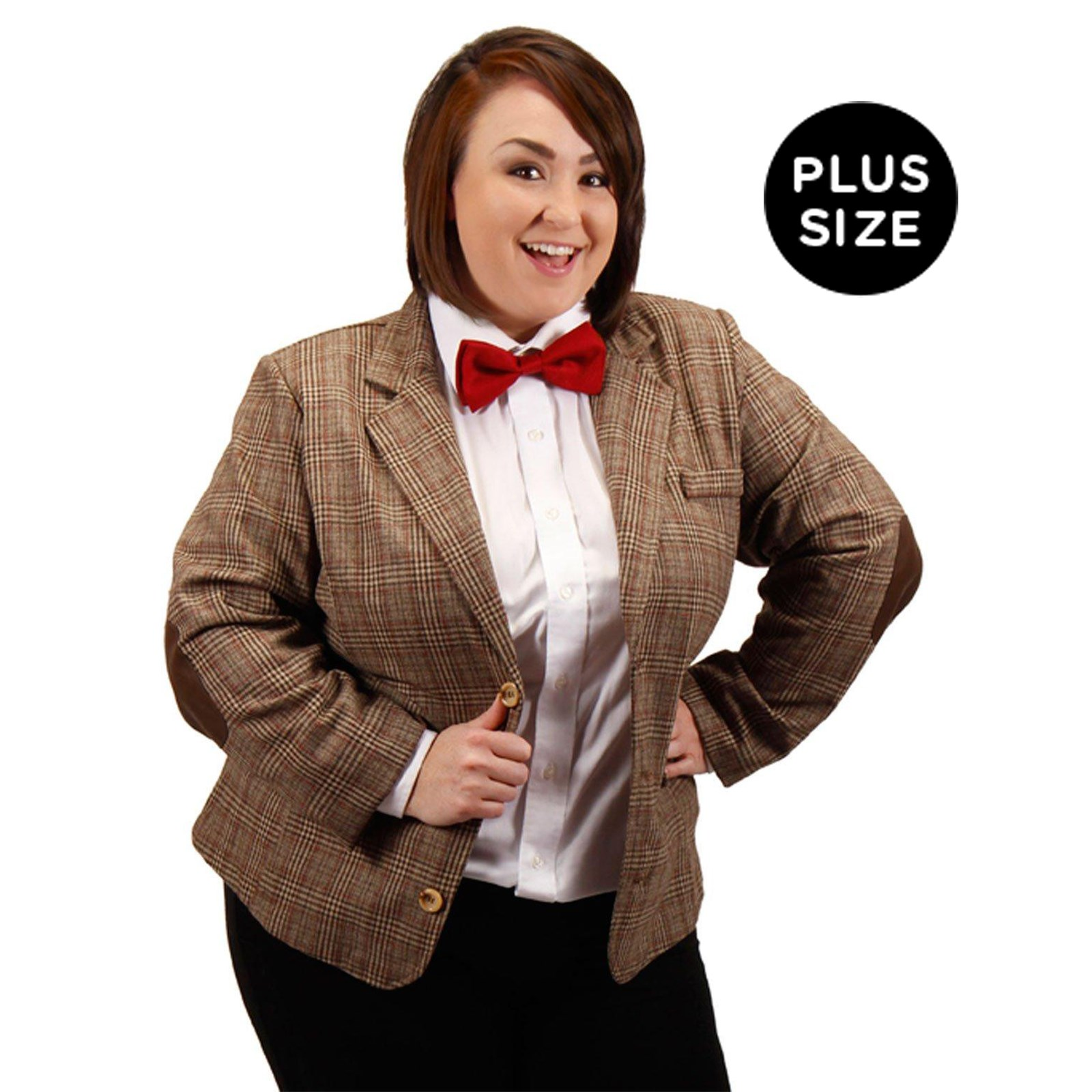 Dr. Who Womens Plus Size Eleventh Doctor Jacket