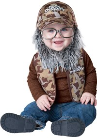 Click Here to buy Duck Dynasty - Uncle Si Baby/Toddler Costume from BuyCostumes