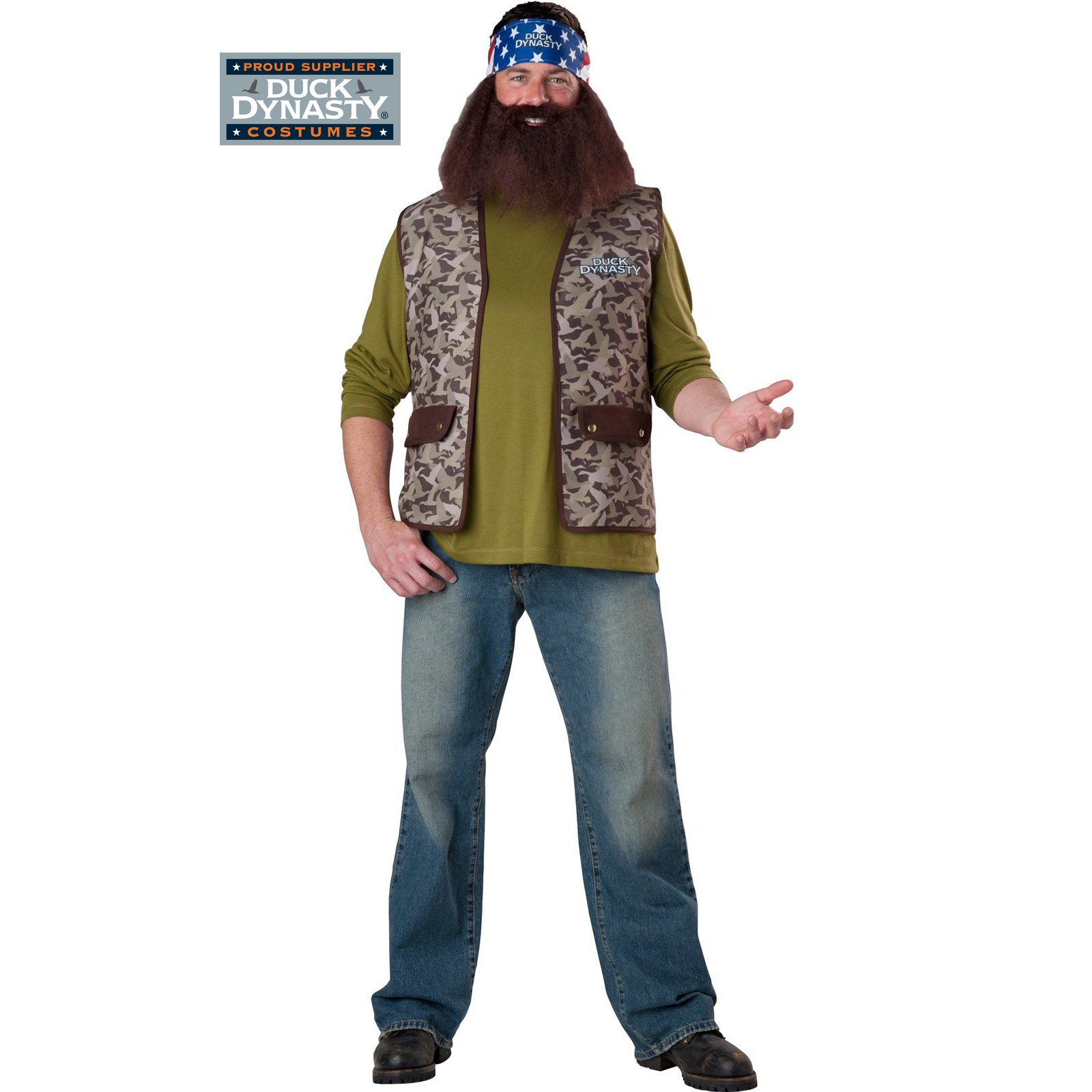 Duck Dynasty - Willie Adult Costume | BuyCostumes.com