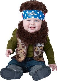 Click Here to buy Duck Dynasty - Willie Baby/Toddler Costume from BuyCostumes