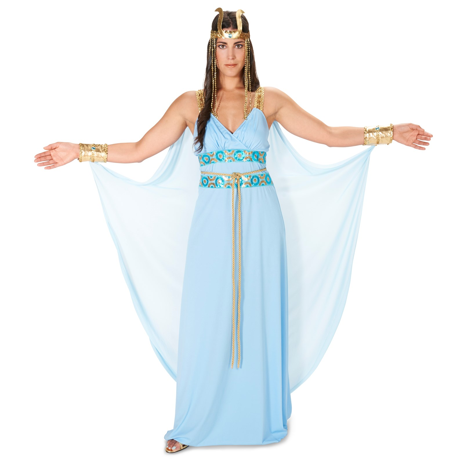 Home gt gt cleopatra costumes gt gt jewel of the nile egyptian adult - Egyptian Goddess Adult Costume