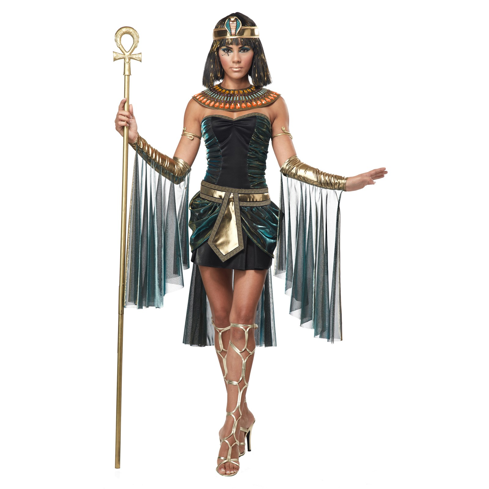 Home gt gt cleopatra costumes gt gt jewel of the nile egyptian adult - Egyptian Goddess Costume For Adults