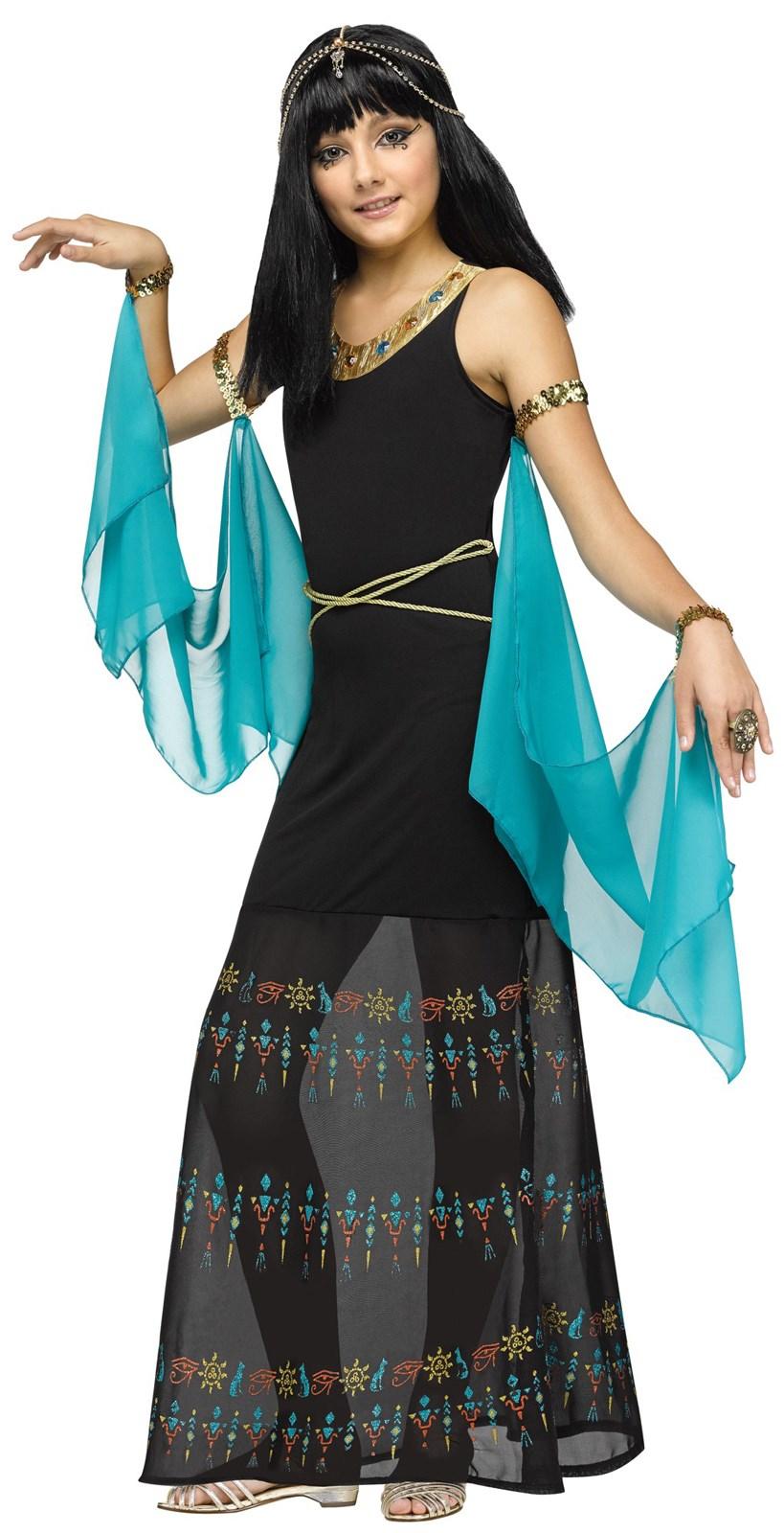 Egyptian Queen Costume For Girls