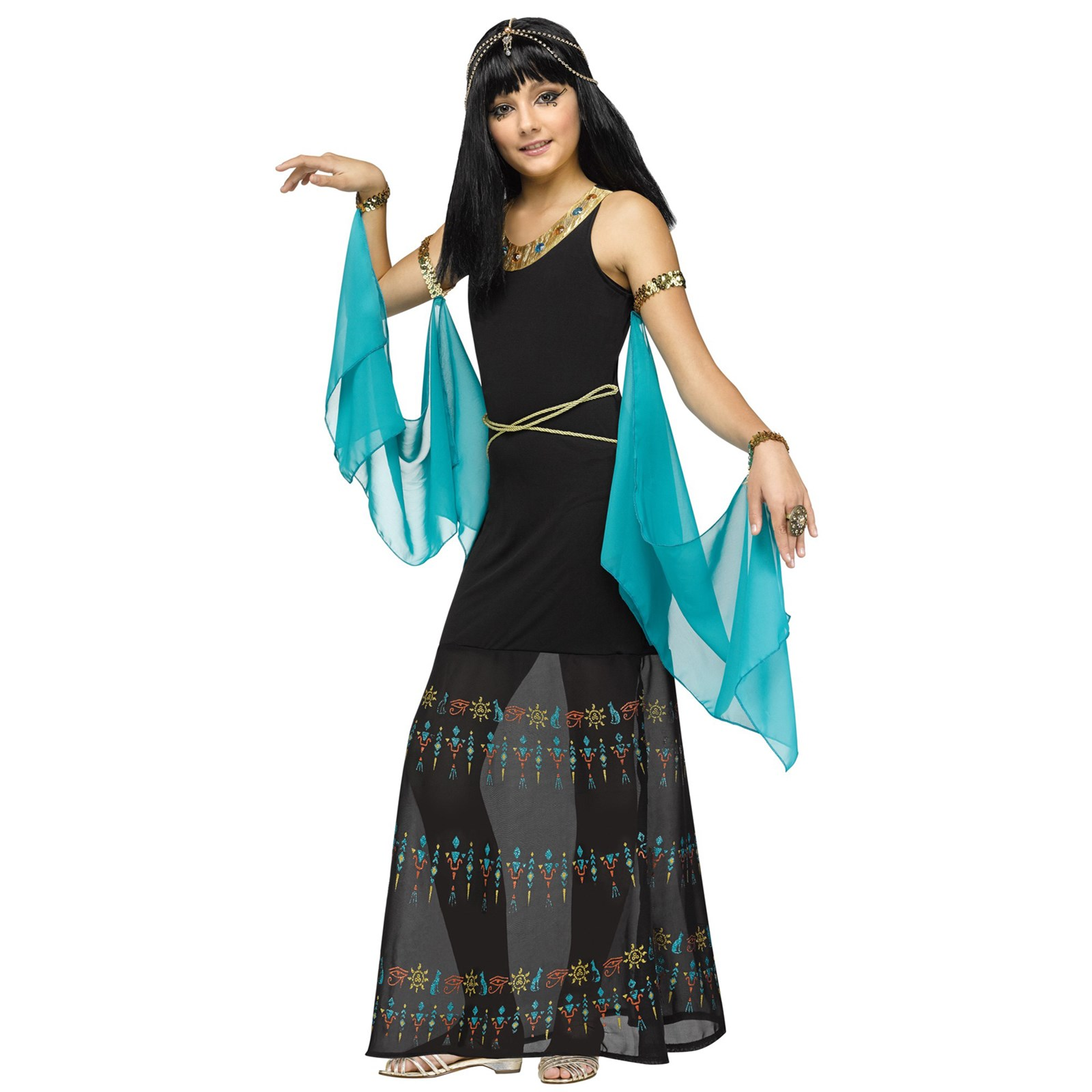 Egyptian Queen Costume For Girls | BuyCostumes.com