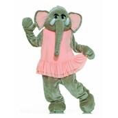 Elephant Plush Economy Mascot Adult Costume