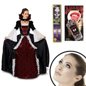 Elite Vampiress Adult Costume Kit