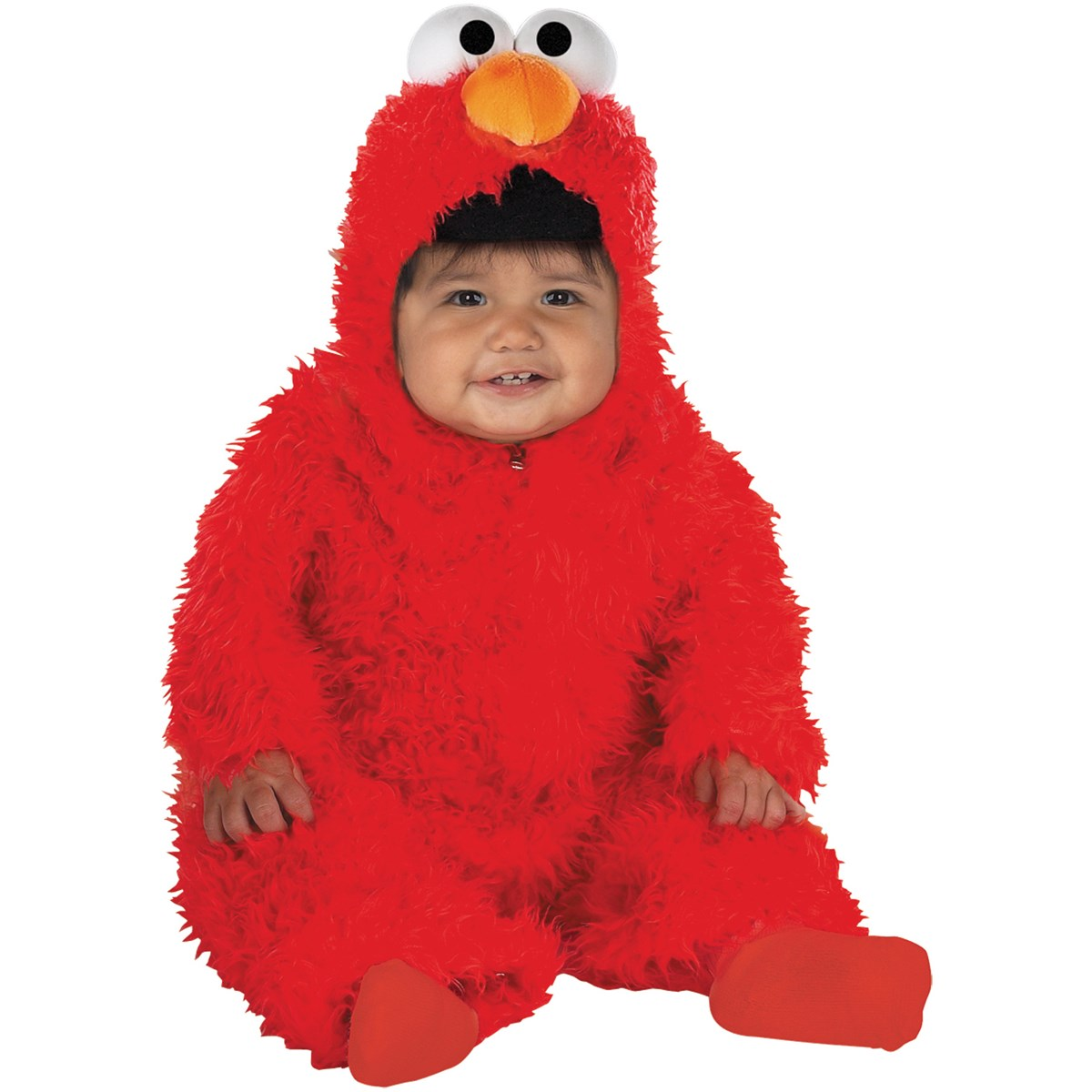 elmo plush deluxe infant costume buycostumescom - Halloween Costumes Elmo