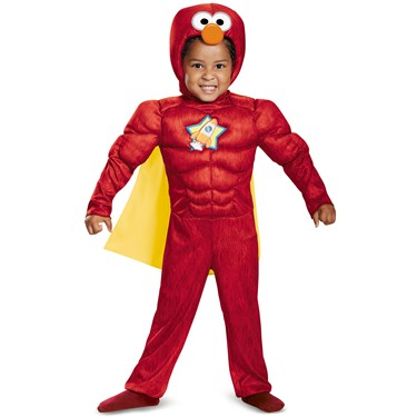 Elmo Toddler Muscle Costume