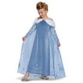 Elsa Frozen Adventure Dress Deluxe Costume
