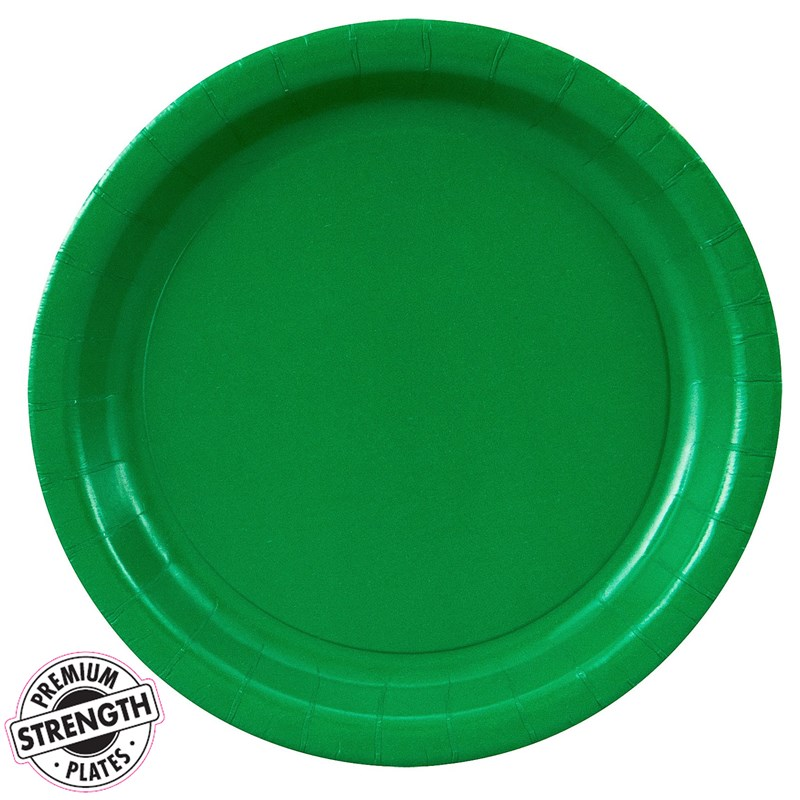 emerald green green dinner plates 24 count. Black Bedroom Furniture Sets. Home Design Ideas