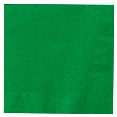 Emerald Green (Green) Lunch Napkins (50 count)