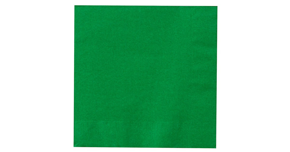 . Emerald Green  Green  Lunch Napkins  50 count    BuyCostumes com