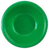 Emerald Green (Green) Plastic Bowls (20 count)