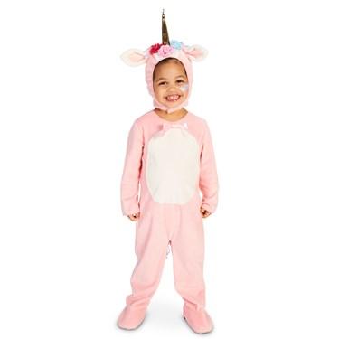 Enchaned Pink Unicorn Child Costume
