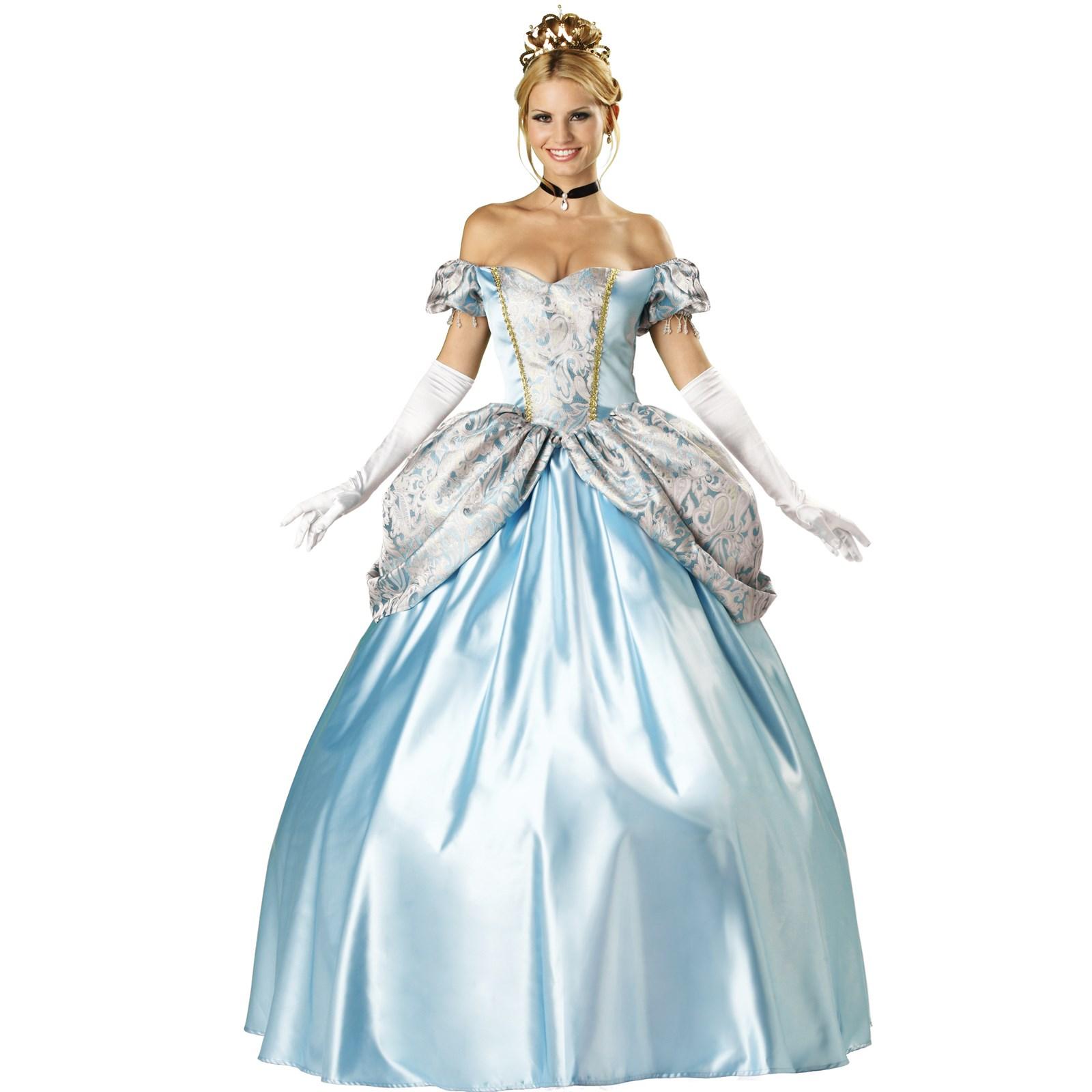 Disney princess gowns for adults - Default Image Enchanting Princess Elite Collection Adult Costume