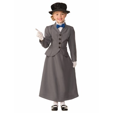 English Nanny Child Costume