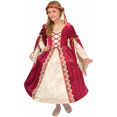 English Princess Child Costume