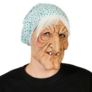 Evil Granny Adult Mask