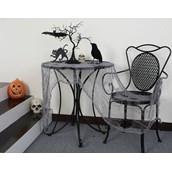 Fabric Table Cloth - Gray Gauze